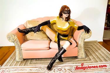 Veronica Ricci becomes a comic book character by ikarasjones