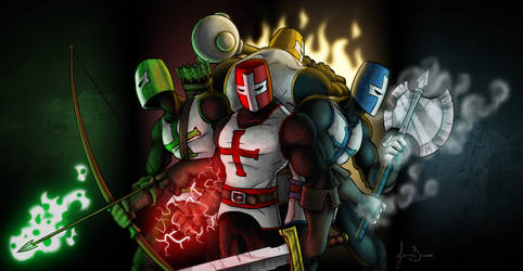 Chunky Castle Crashers by JazzaStudios