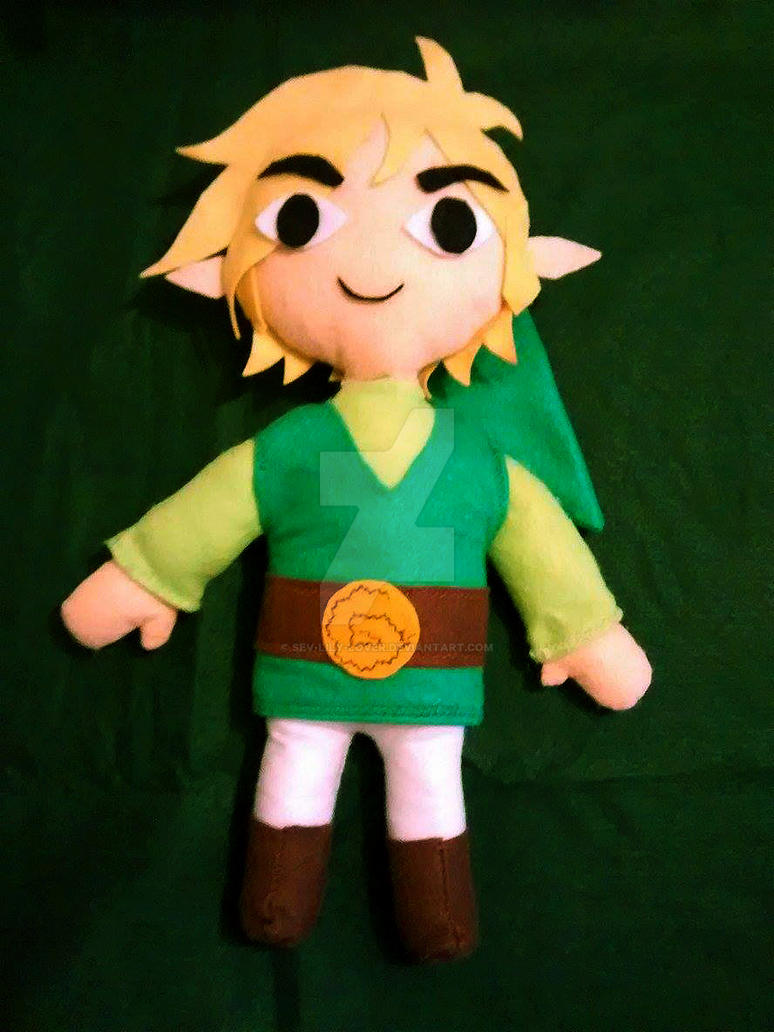 Toon Link Plushie by Sev-Lily-lover