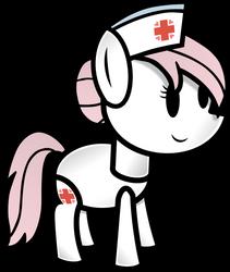 Paper Nurse Redheart by FinePrint-MLP