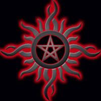 Godsmack Pentagram by Rayfire