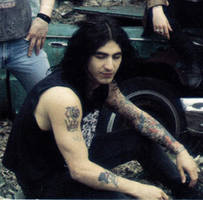 Sully from Godsmack in 1980's by Rayfire