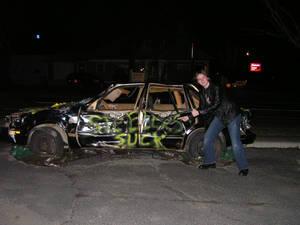 Steelers Suck car
