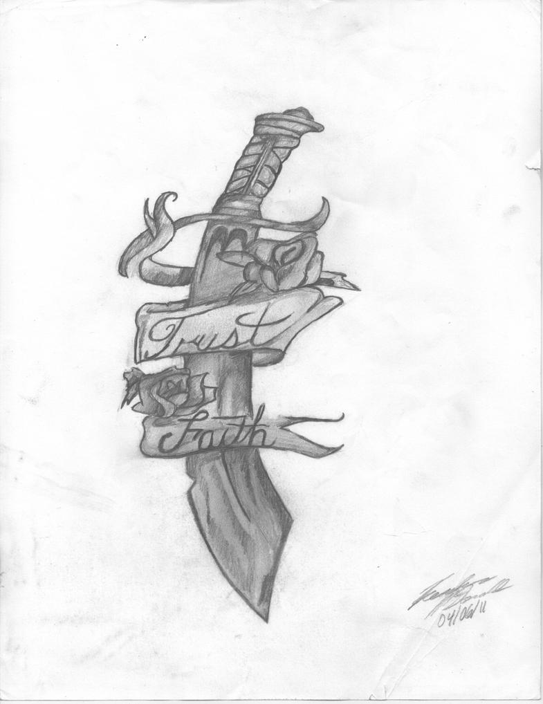 Dagger Tattoo By Brakien On Deviantart