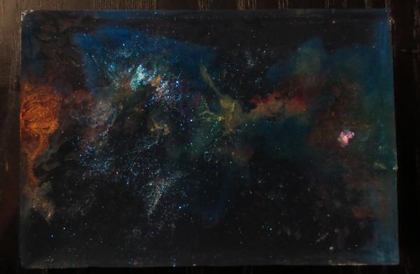 Interstellar soap by Mamitu