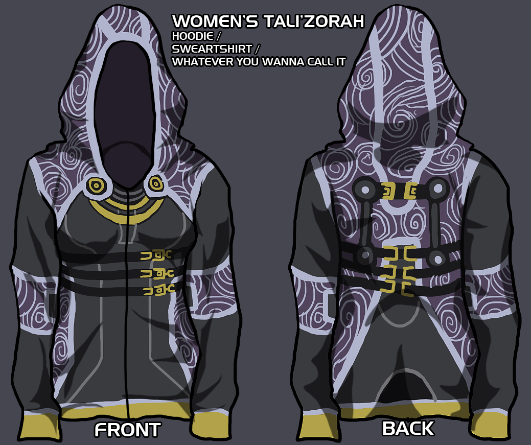 tali hoodie - give me your input! by lupodirosso on DeviantArt