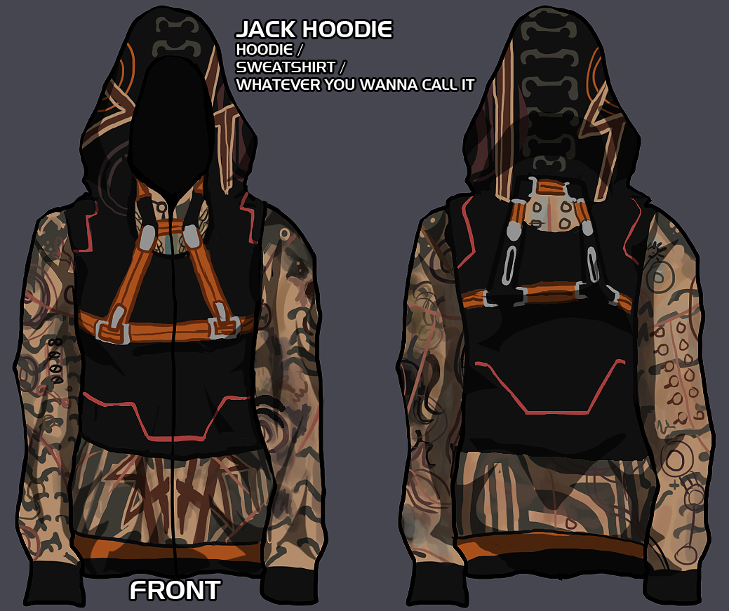 jack hoodie - give me your input! by lupodirosso