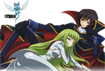 Lelouch Lamperouge and CC CodeGeass