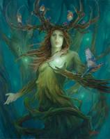 Forest Goddess by Steves3511
