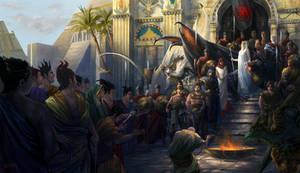 The Surrender of Mereen by Steves3511