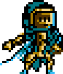 Techno Knight - Shovel Knight style by JamesTDG