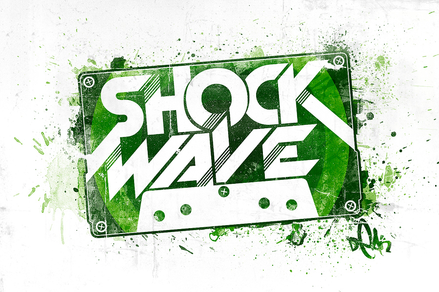 SHOCKWAVE Label by DigitalDean