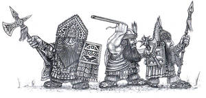 Dwarves of the Wrathful Mountains
