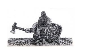 Nevaz Barim Dwarf by KarakNornClansman