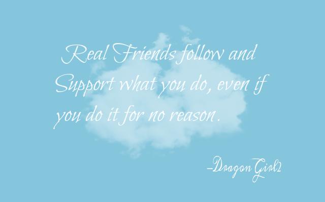 Friendship by DragonWolfGirl2