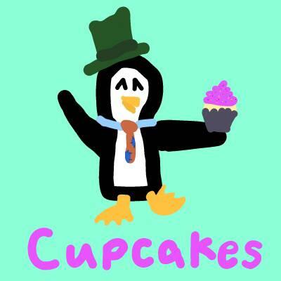 Cupcake Penguin Aj by DragonWolfGirl2