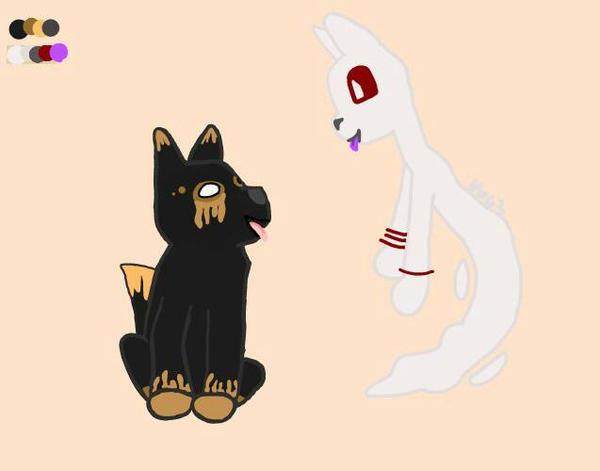 Haunted BFFs by DragonWolfGirl2