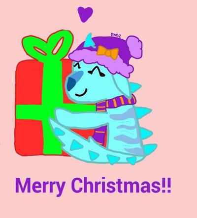Merry Christmas! by DragonWolfGirl2