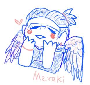Meraki Angel by DragonWolfGirl2