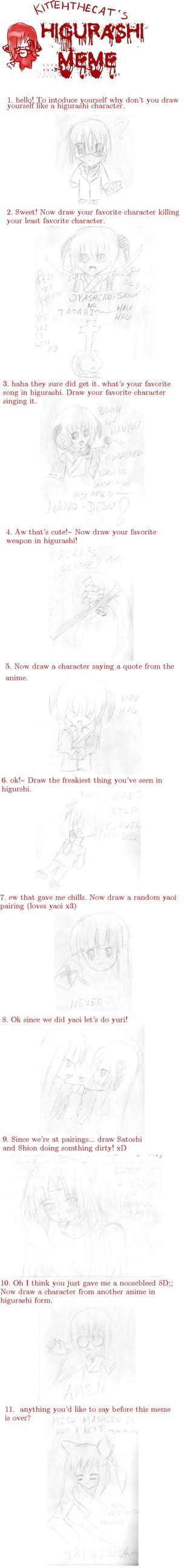 Higurashi Meme by raikeisho