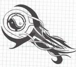 Yin-Yang Tattoo Design