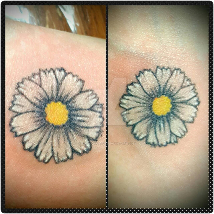 8c3c49405 Mini Daisy Tattoo by Ladyknight17 on DeviantArt