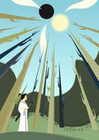 Samurai Jack - Forest by x-Akam