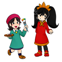 Adeleine and Ashley...