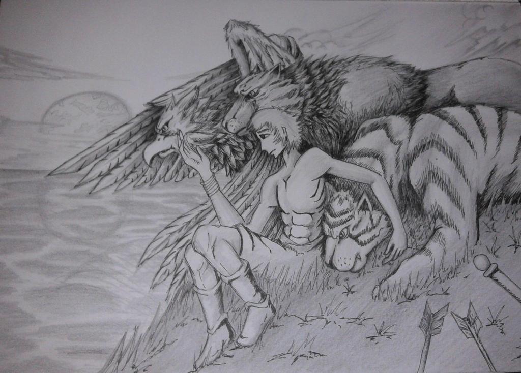 The Beast Friends by aditrityo