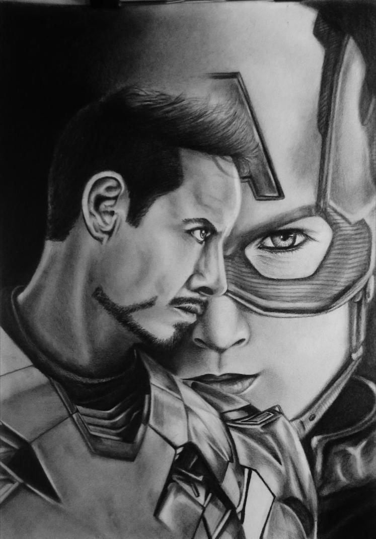Captain America: Civil War  by aditrityo