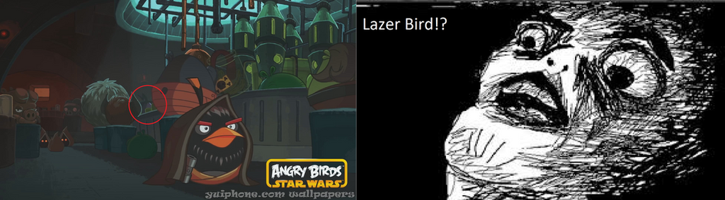 An Easter Egg in Angry Birds Star Wars Trailer by GreenWingSpino32 ...