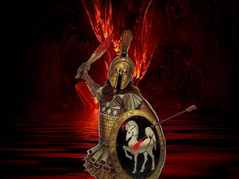 Ares god of war by flyingcommunistmonky on deviantart - Ares god of war wallpaper ...