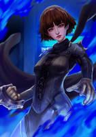 Makoto Nijima Persona 5 by Magnusmight
