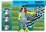 Ichiro Takka Reference Sheet by Algren-Hayabusa