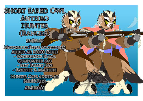 [Auction] - Short Eared Owl Hunter - FINISHED