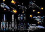 R-TYPE: R-9 Arrowhead renders