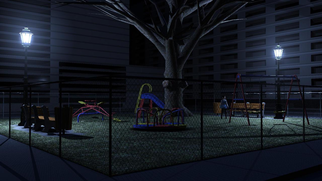Urban playground WIP by Pixel511 on DeviantArt