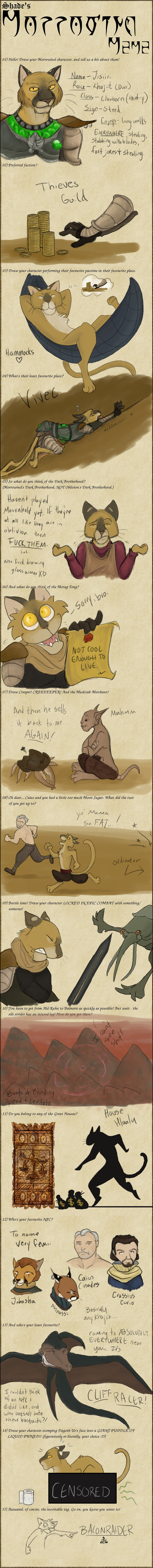 Morrowind Meme by kitendawili