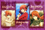 GINTAMA-Kagura x 3!- Gift for Iiluk