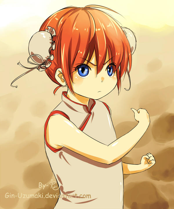 GINTAMA-Kagura(young) by Gin-Uzumaki