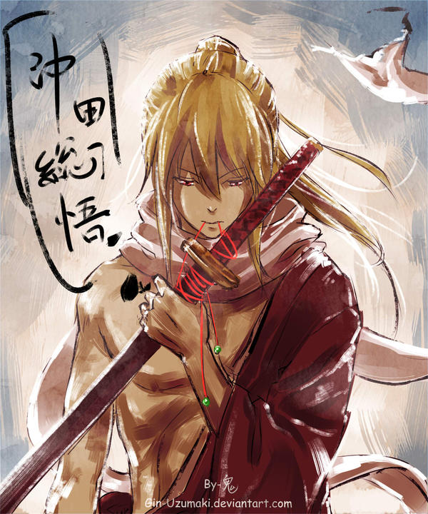 Gintama- Kanketsuhen-Okita Sougo By Gin-Uzumaki On DeviantArt