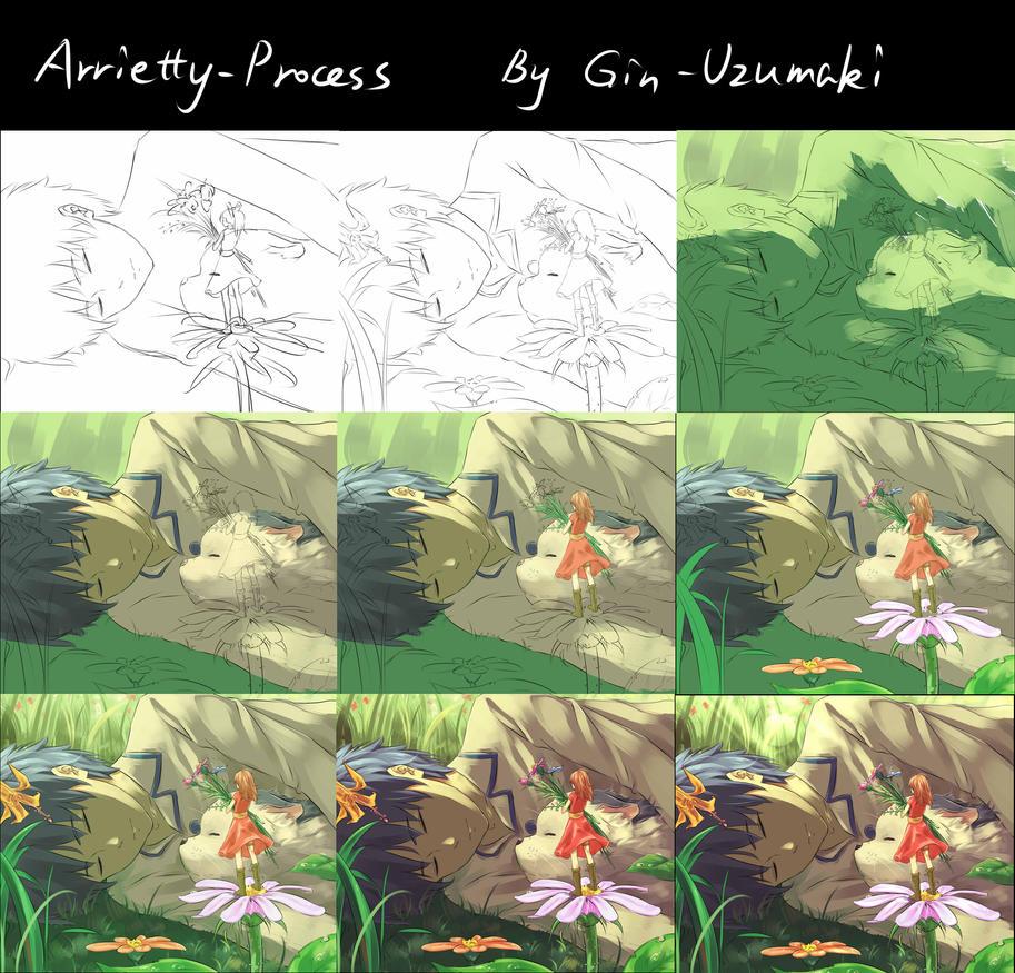 Process-Arrietty by Gin-Uzumaki