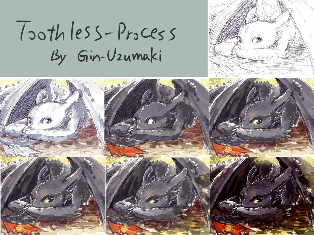 Toothless-process by Gin-Uzumaki