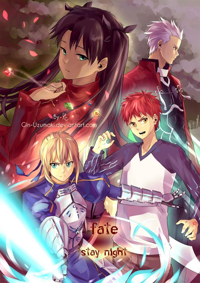 Fate stay night by Gin-Uzumaki