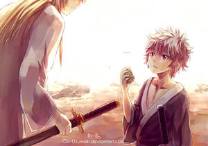 GINTAMA- the first time i see you