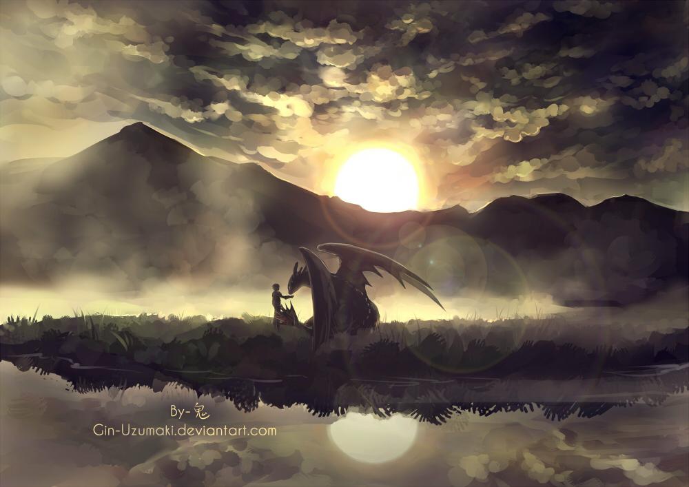 HTTYD2- the dawn by Gin-Uzumaki