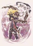 GINTAMA-Takasugi the red falcon