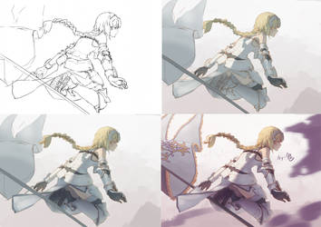 Process-Jeanne by Gin-Uzumaki