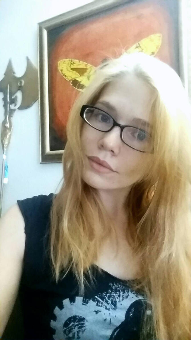 I'm now blonde xD  by BubblegumGirl22