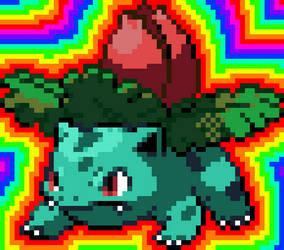 Ivysaur Sprite (Battle)